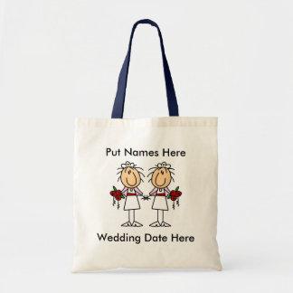 Lesbische besonders anzufertigen Heirat Einkaufstaschen