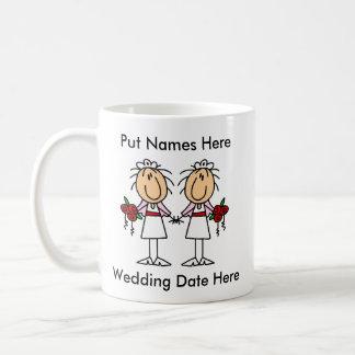 Lesbische besonders anzufertigen Heirat Teetasse