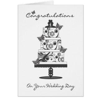 lesbische Glückwünsche Gruß-Karte mit Hochzeit Karte