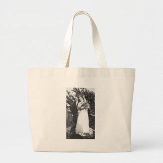 Lesbische Hochzeit circa 1920 Leinentaschen