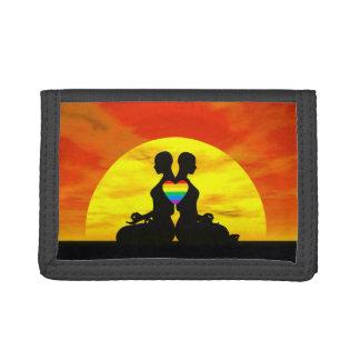 Lesbische Yoga-Liebe - 3D übertragen