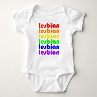 Lesbischer Regenbogen Hemd