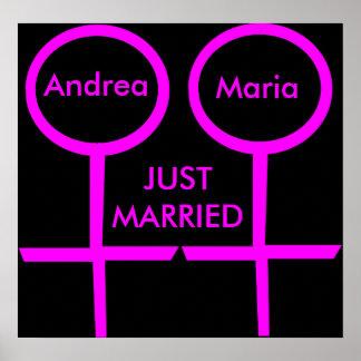 Lesbisches Liebhaber-gerade verheiratetes kundenge