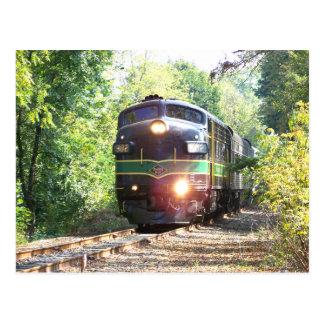 Leseeisenbahn-Linien FP7 Diesellokomotive 902 Postkarte