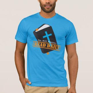 Lesen Sie die christliche Bibel täglich T-Shirt