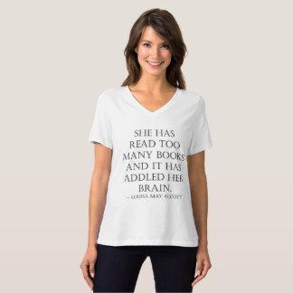 lesen Sie zu viele Bücher T-Shirt