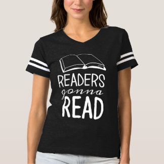 Leser, die gehen, Fußball-Shirt zu lesen T-shirt