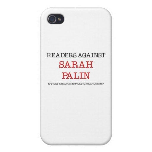 Leser gegen Sarah Palin iPhone 4 Schutzhüllen