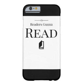 Leser Gunna lasen Telefon-Kasten Barely There iPhone 6 Hülle