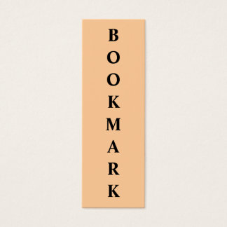 Lesezeichen Mini Visitenkarte