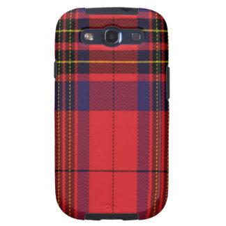 Leslie schottischer Tartan Samsung rufen Fall an
