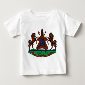 Lesotho-Emblem Baby T-shirt