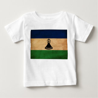 Lesotho-Flagge Baby T-shirt