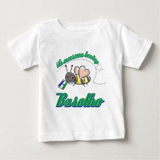 Lesotho-Flaggenentwurf Baby T-shirt