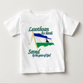 Lesothoan durch die Geburt gerettet von Gnaden des Baby T-shirt