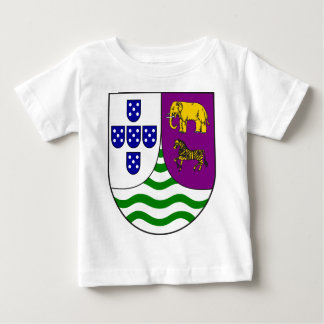 Lesser_coat_of_arms_of_Portuguese_West_Africa Baby T-shirt