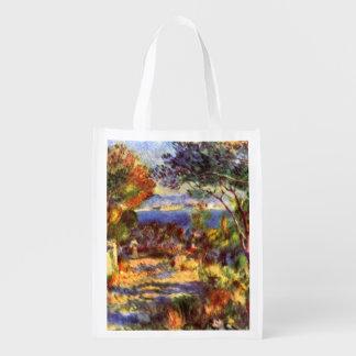 L'Estaque durch Pierre Renoir, Vintager Wiederverwendbare Einkaufstasche