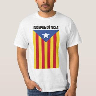 L'Estelada Blava - blauer Stern-Flagge Katalonien T-Shirt