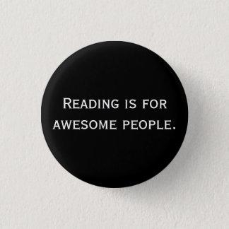 Lesung ist für fantastischen Leute Knopf Runder Button 3,2 Cm