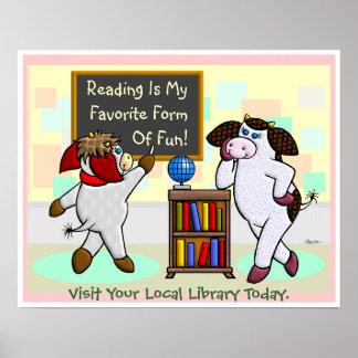 Lesung ist meine Lieblingsform des Spaßes! Posterdrucke