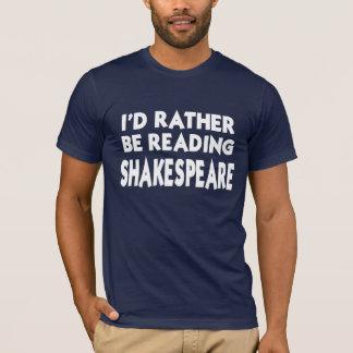 Lesung Shakespeare T-Shirt