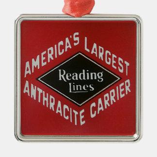 Lesung zeichnet Amerikas größte Silbernes Ornament