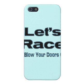 Let Rennen brenne ich Ihre Türen weg durch! Hülle Fürs iPhone 5