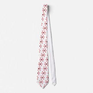 Lettische Sprache und Lettland-Flaggen-Entwurf Personalisierte Krawatte