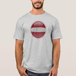 Lettland-Blasen-Flagge T-Shirt