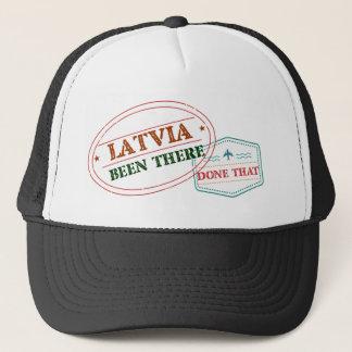 Lettland dort getan dem truckerkappe