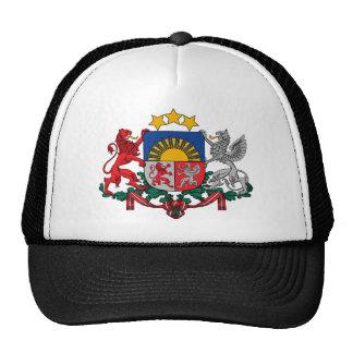 Lettland-Emblem Kappe