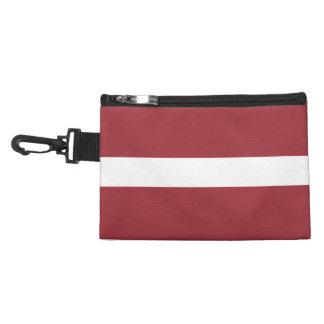 Lettland-Flagge Kulturtasche
