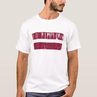 Lettland-Flagge T-Shirt