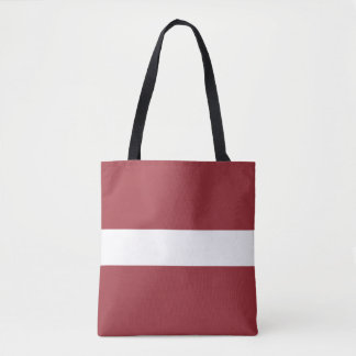 Lettland-Flagge Tasche