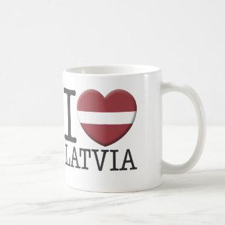 Lettland Kaffeetasse
