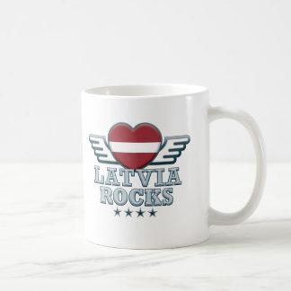 Lettland schaukelt v2 kaffeetasse