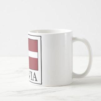 Lettland-Tasse Kaffeetasse