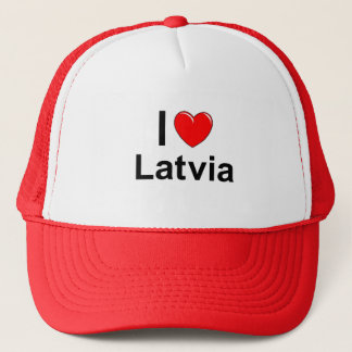 Lettland Truckerkappe