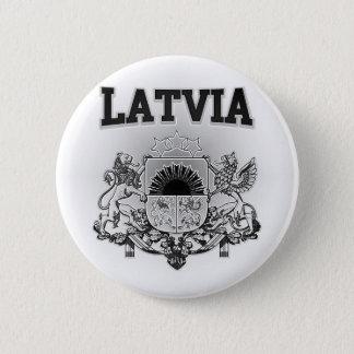 Lettland-Wappen Runder Button 5,7 Cm