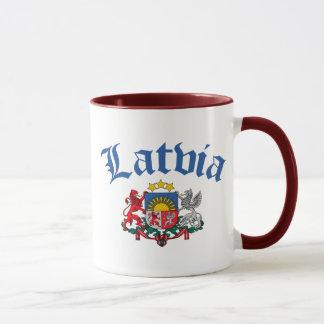 Lettland-Wappen Tasse