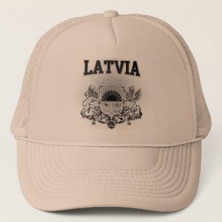 Lettland-Wappen Truckerkappe