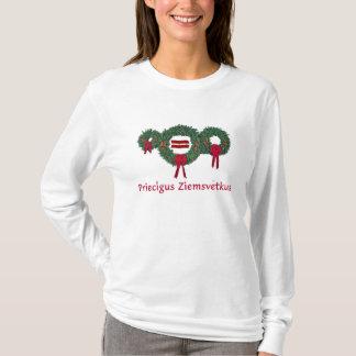 Lettland-Weihnachten 2 T-Shirt