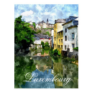 Lëtzebuerg - Luxemburg Postkarte