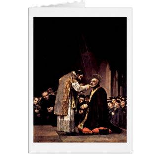 Letzte Kommunion von St Joseph durch Francisco De Karte
