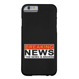 letzte Nachrichten Barely There iPhone 6 Hülle