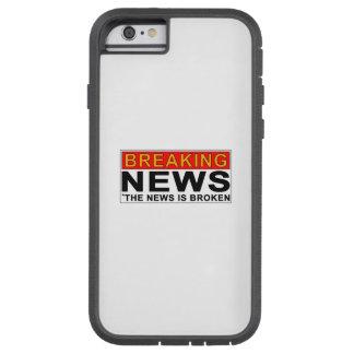 letzte Nachrichten Tough Xtreme iPhone 6 Hülle