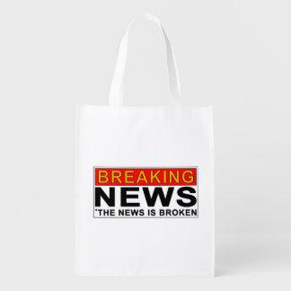 letzte Nachrichten Wiederverwendbare Einkaufstasche