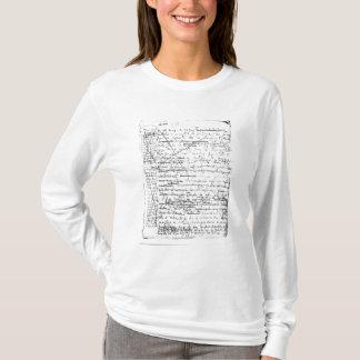Letzte Seite 'eines La Recherche du Temps Perdu' T-Shirt