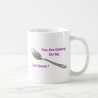 Letzter Löffel Kaffeetasse