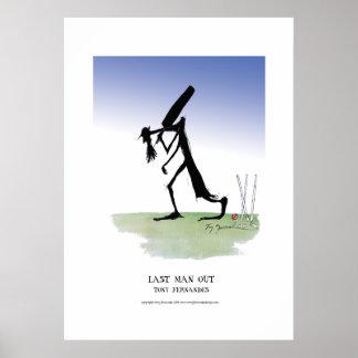 letzter Mann heraus, tony fernandes Plakat